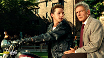 A still #8 from Indiana Jones and the Kingdom of the Crystal Skull with Harrison Ford and Shia LaBeouf