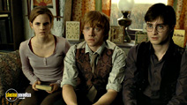 A still #4 from Harry Potter and the Deathly Hallows: Part 1 with Daniel Radcliffe, Rupert Grint and Emma Watson