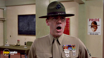 A still #4 from Full Metal Jacket with R. Lee Ermey