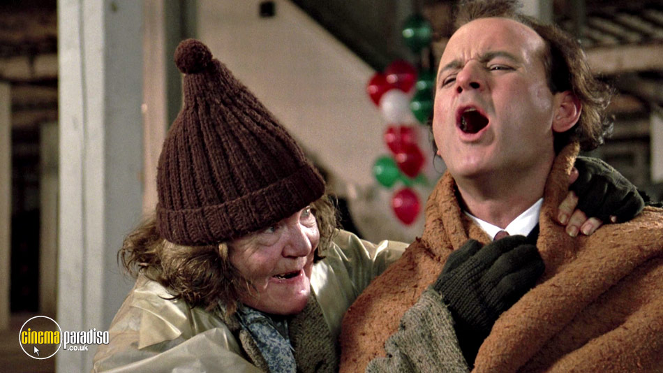 Still from The Scrooged