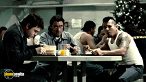 A still #2 from Death Race with Ian McShane and Jacob Vargas