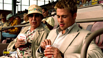 A still #5 from Ocean's Eleven with Brad Pitt