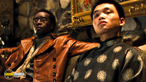 A still #6 from Ocean's Eleven with Don Cheadle and Shaobo Qin