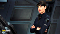 A still #8 from Avengers Assemble with Cobie Smulders