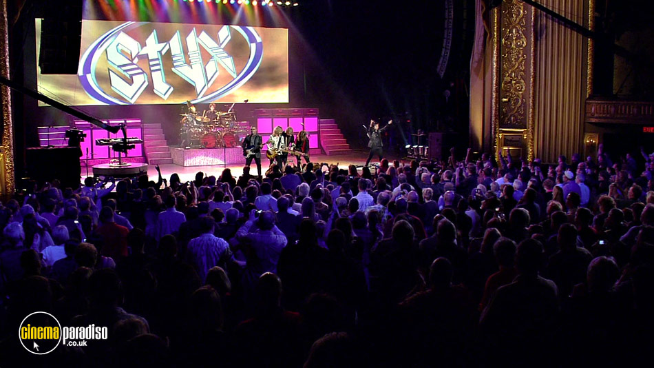 Styx: The Grand Illusion / Pieces of Eight: Live online DVD rental