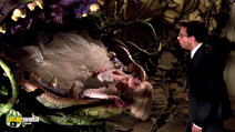 A still #23 from Little Shop of Horrors with Rick Moranis and Ellen Greene