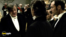 A still #14 from Sherlock Holmes: A Game of Shadows with Stephen Fry and Jude Law