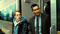 A still #3 from Source Code with Jake Gyllenhaal and Kyle Gatehouse