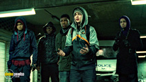 A still #7 from Attack the Block with John Boyega, Alex Esmail and Leeon Jones
