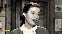 A still #3 from Sunset Boulevard with Nancy Olson