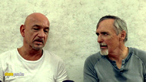 A still #2 from Elegy with Dennis Hopper and Ben Kingsley