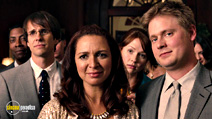 A still #5 from Bridesmaids with Tim Heidecker, Maya Rudolph and Greg Tuculescu