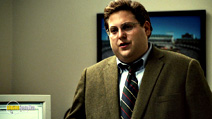 A still #5 from Moneyball with Jonah Hill