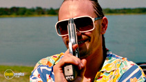 A still #9 from Spring Breakers with James Franco
