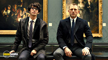 A still #6 from James Bond: Skyfall with Daniel Craig and Ben Whishaw