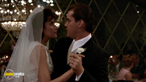 A still #13 from Goodfellas with Ray Liotta and Lorraine Bracco