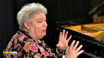 Still #4 from Ann Rabson: Blues and Barrellhouse Piano