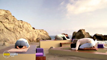 Still #4 from Yin and Yang Yoga with Simon Low