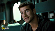A still #3 from The Expendables 2 with Liam Hemsworth