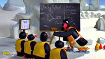 Still #4 from Pingu: Sledge Academy