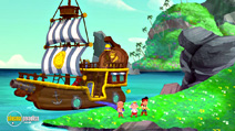 Still #3 from Jake and the Never Land Pirates: Jake Saves Bucky