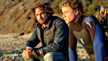 A still #4 from Chasing Mavericks (2012) with Gerard Butler and Jonny Weston