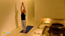 Still #4 from Kisen: Yoga for Weight Loss