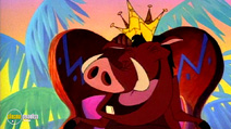 Still #4 from Around the World with Timon and Pumbaa