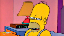 Still #7 from The Simpsons Classics: The Last Temptation of Homer