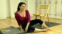 Still #7 from Easy Yoga: An Introduction to Hatha Yoga