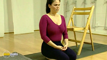 Still #8 from Easy Yoga: An Introduction to Hatha Yoga