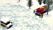 Still #6 from Fireman Sam: Snow Trouble