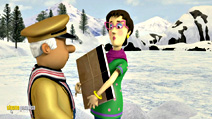 Still #8 from Fireman Sam: Snow Trouble