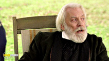 A still #4 from Cold Mountain with Donald Sutherland