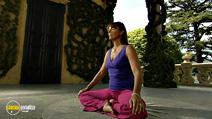 Still #5 from Anti-Stress Yoga with Ateeka