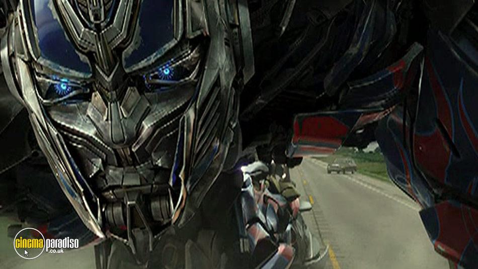 Transformers: Age of Extinction online DVD rental