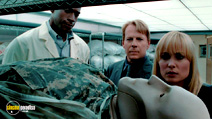 A still #18 from Surrogates with Radha Mitchell and Bruce Willis