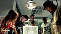 A still #14 from Dexter: Series 1 with Jennifer Carpenter, David Zayas and Lauren Vélez