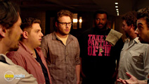 A still #9 from This Is the End with Seth Rogen, Craig Robinson and Jonah Hill