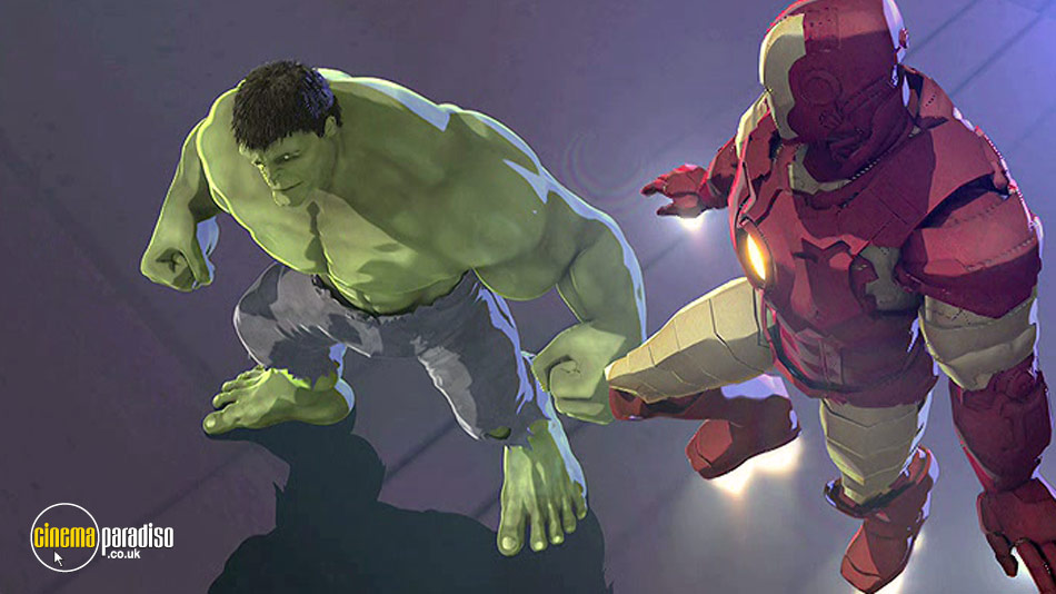 Iron Man and Hulk: Heroes United online DVD rental