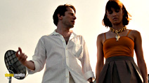 A still #5 from James Bond: Quantum of Solace with Mathieu Amalric and Olga Kurylenko