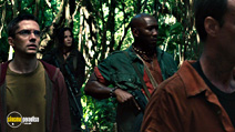 A still #6 from Predators with Topher Grace, Alice Braga and Mahershala Ali
