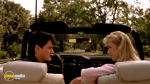A still #15 from Blue Velvet with Laura Dern and Kyle MacLachlan