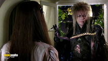 A still #18 from Labyrinth with David Bowie