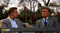 A still #8 from Breakfast at Tiffany's with George Peppard and Buddy Ebsen