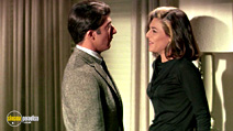 A still #3 from The Graduate with Anne Bancroft and Dustin Hoffman