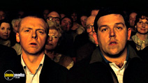 A still #9 from Hot Fuzz with Simon Pegg and Nick Frost