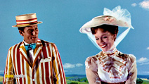 A still #7 from Mary Poppins with Julie Andrews and Dick Van Dyke