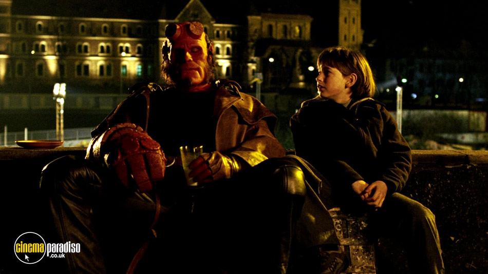 Hellboy online DVD rental