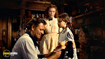 A still #2 from The Searchers with John Wayne, Lana Wood and Pippa Scott